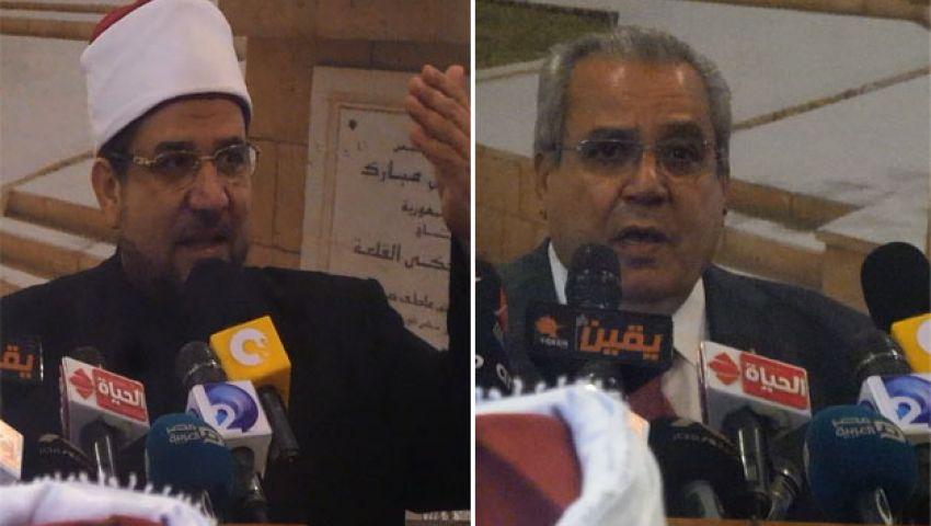 وزيرا الأوقاف والثقافة.. وحدهما الإرهاب وفرقتهما الخلافة